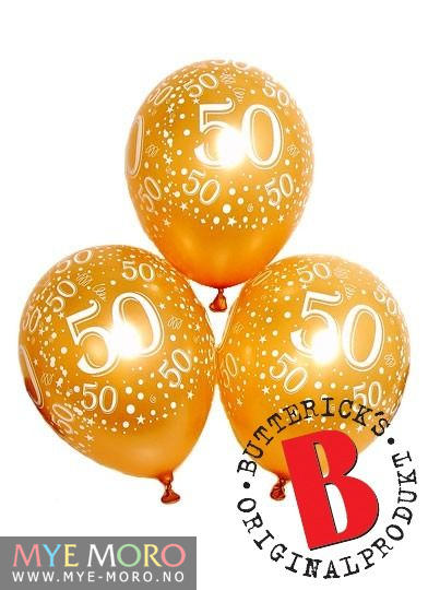 50 år bilder Ballonger 50 år bilder