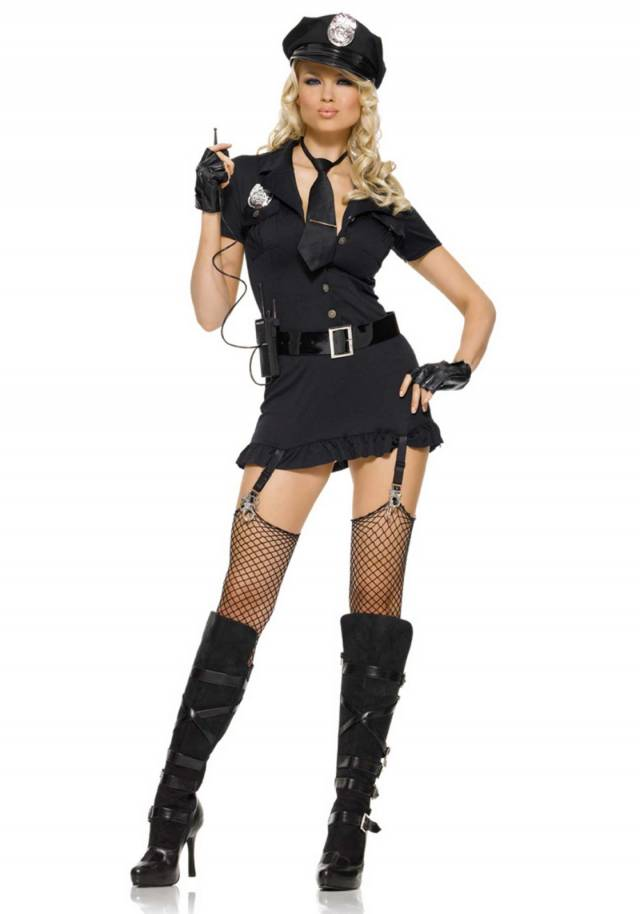 politi kostyme dame moden eskorte