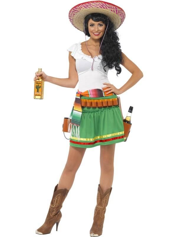 67240019 Tequila Shooter Girl Kostyme