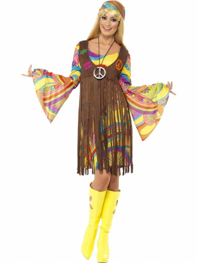 c801ae0d 1960`s Groovy Lady Kostyme