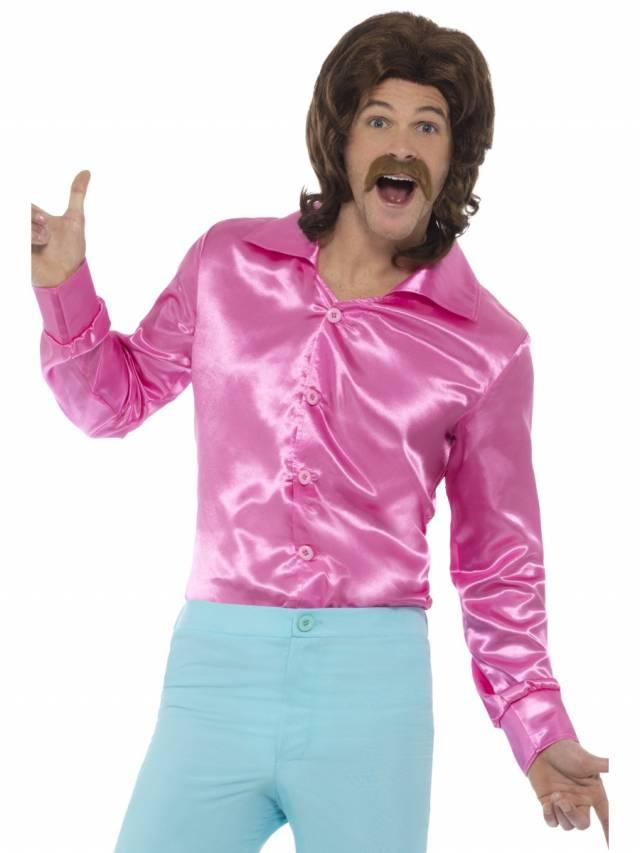 Discoskjorte rosa, barn