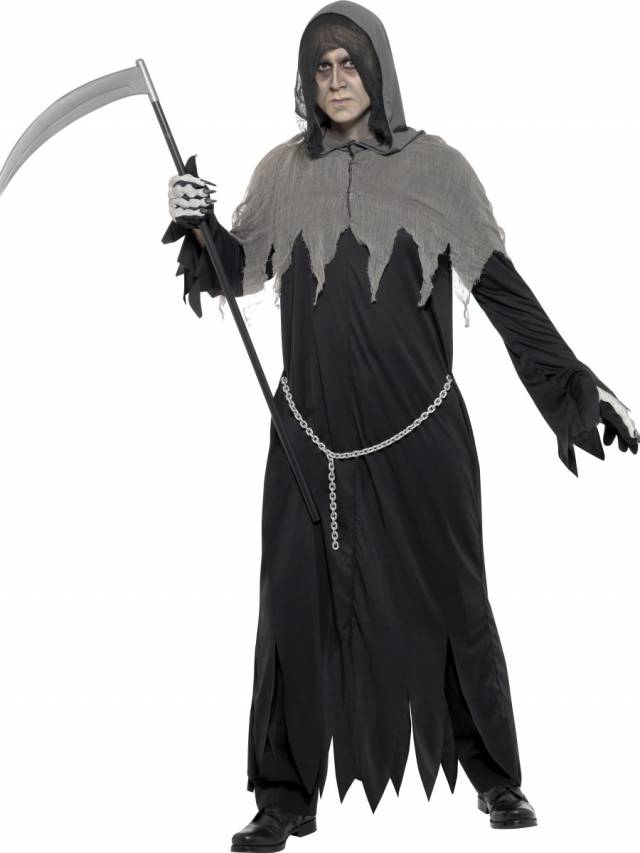 0fbaaa0d Hooded Grim Reaper Costume