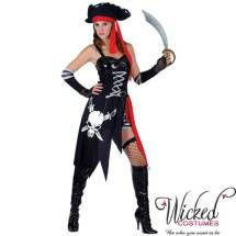 Pirate Captain Deluxe Character Jakke