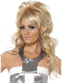 535eaeec 1960`s Beauty Queen Blond Parykk