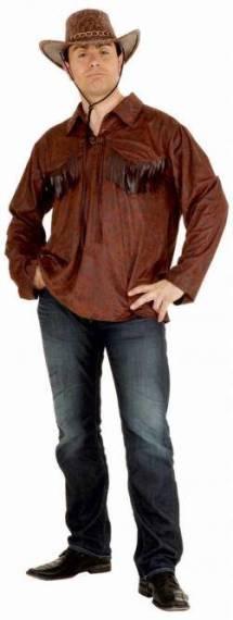 Cowboy Skjorte Rutete AUTHENTIC