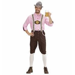 Bavarian Man Lederhosen Inkl Skjorte