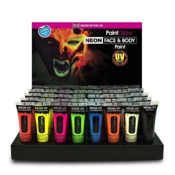 KUPP! Neon Sminke Tube 10 Pakk