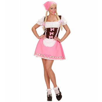 Sexy Oktoberfest Bavarian Girl Kostyme Bru