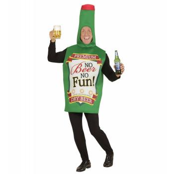 Ølflaske Kostyme Grønn