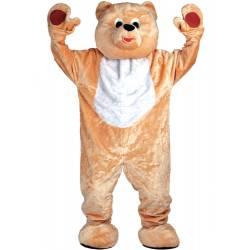 Teddybjørn Kostyme Mascot GIANT Deluxe