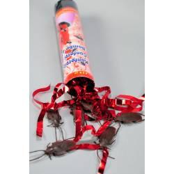 Party Confetti Shooter med Kakkerlakker